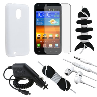 Case/ LCD Protector/ Headset/ Cable/ Charger for Samsung Epic 4G D710