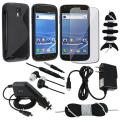 Case/ LCD Protector/ Charger/ Headset for Samsung Galaxy S2 T989