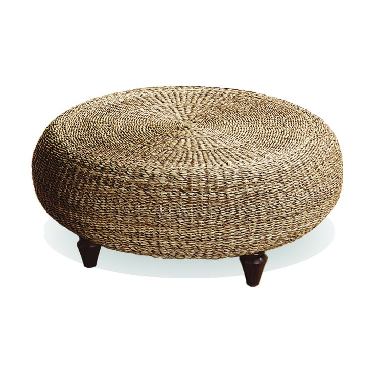 Urban Home Natural Banana Core Ottoman