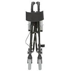 HealthSmart Black Folding Gateway Rollator