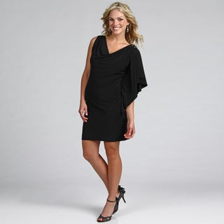 Jessica Howard Women's Beaded Drape Dress