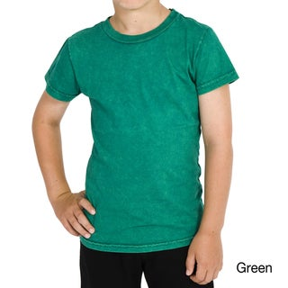 American Apparel Kids' Acid Wash Cotton Tee