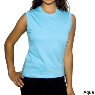 American Apparel Women's Jersey Muscle Tank