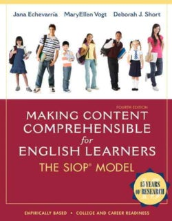 Making Content Comprehensible for English Learners: The SIOP Model (Paperback)