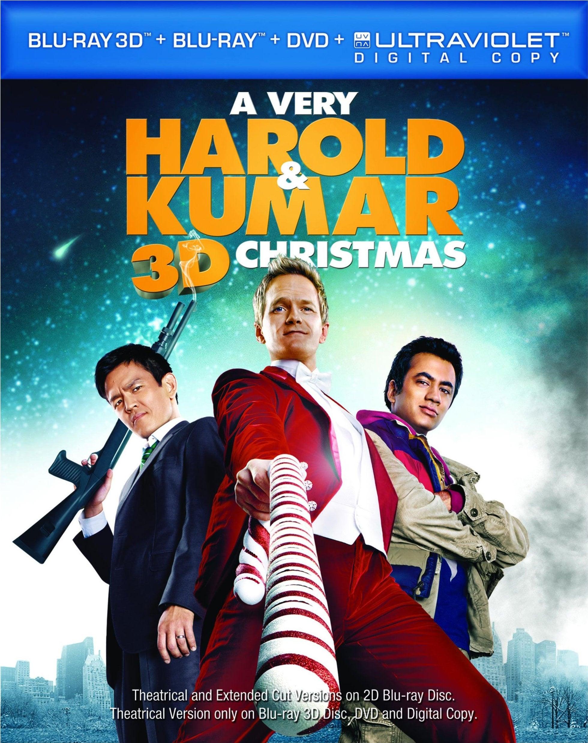 A Very Harold & Kumar 3D Christmas (Blu-ray Disc)