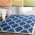 Handmade Luna Marrakesh Trellis Wool Rug (5&#39; x 8&#39;)