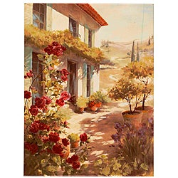 Fabrice de Villeneuve's 'A Dream of Summer' Giclee Canvas Art