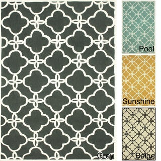 nuLOOM Handmade Indoor / Outdoor Lattice Trellis Rug (5' x 8')