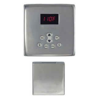 Temp Control Plus Brushed Nickel Square