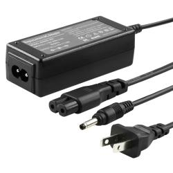 Black Four-foot 30-watt Travel Charger for HP Mini Laptop 493092-002