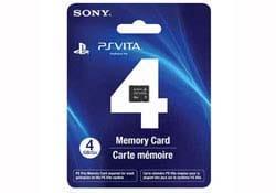 Ps Vita -  4GB Memory Card
