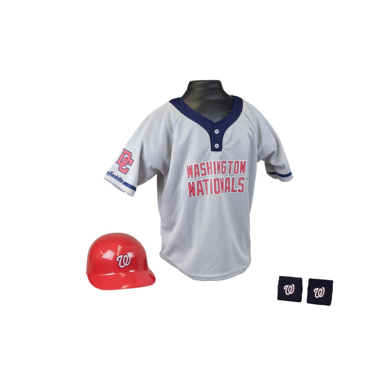 Franklin Sports MLB Washington Nationals Kids Team Uniform Set