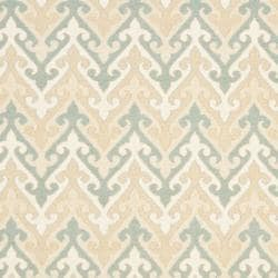 Sumak Flatweave Heirloom Beige Wool Rug (4 x 6)