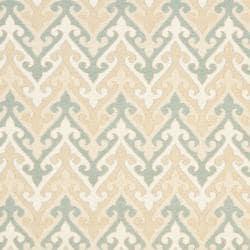 Sumak Flatweave Heirloom Beige Wool Rug (6 x 9)