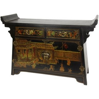Black Lacquer Daily Life Altar (China)