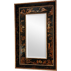 Black Lacquer Mirror (China)