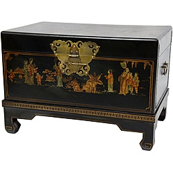 Black Lacquer Small Trunk (China)