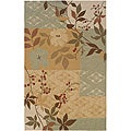 "Orleans Transitional Multicolor Rectangle Rug (5' x 7'9"")"