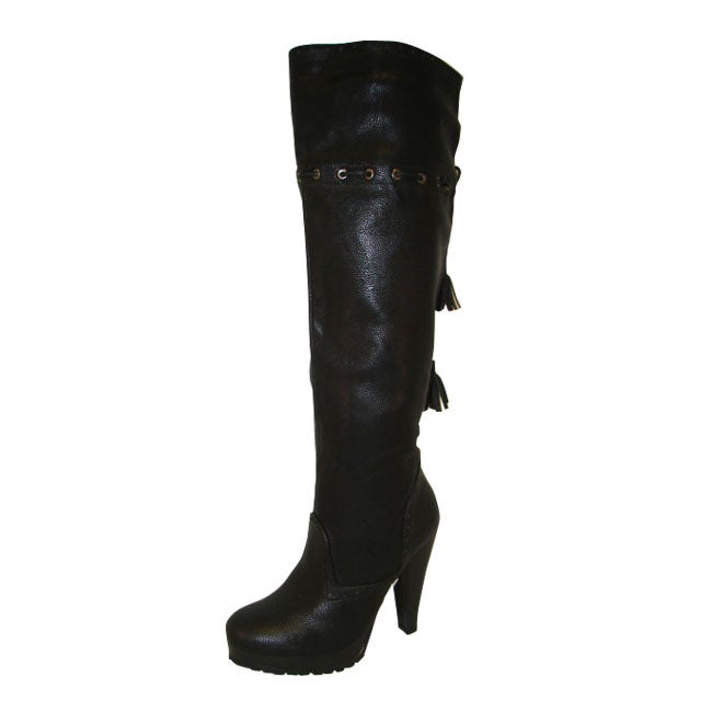 Bucco Women's 'Callista' Black Boots