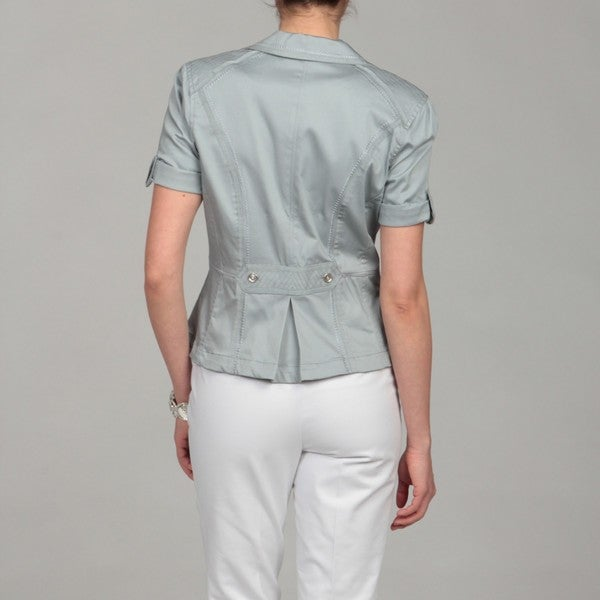 Katherine New York Women's Silver Stitch Detail Jacket