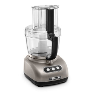 KitchenAid KFPW763CS Food Processor with 2 Bowls