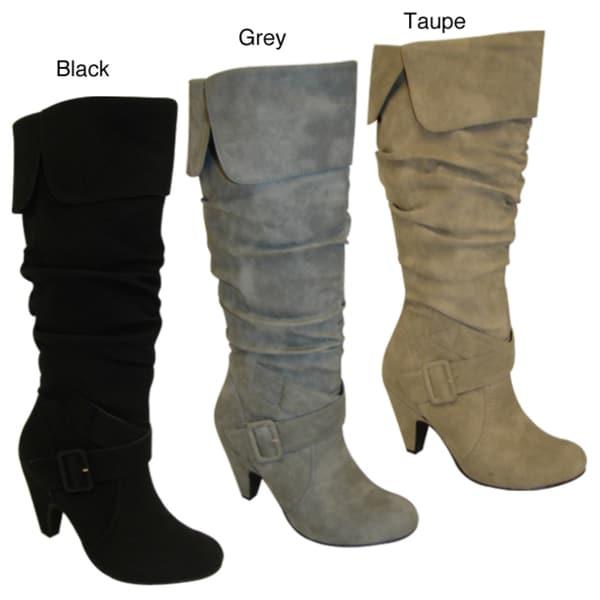 Bucco Women's Mid-calf Pull-on Boots