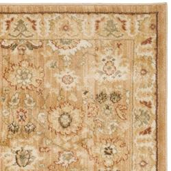 Oushak Light Brown/ Gold Rug (2'3 x 8')