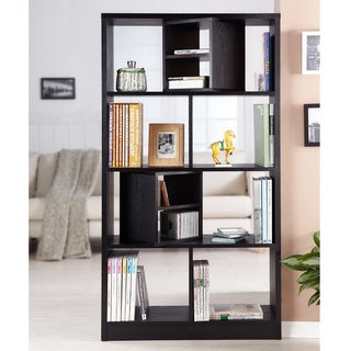 Furniture of America Modern Swivel Blocks Bookcase/ Display Stand