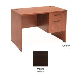 Regency Seating 42-inch Desk with Box and File Pedestal