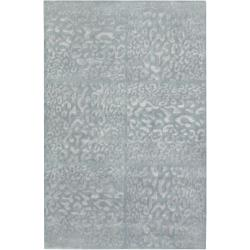 Candice Olson Hand Knotted Corinne Animal Pattern Wool Rug (5' x 8')