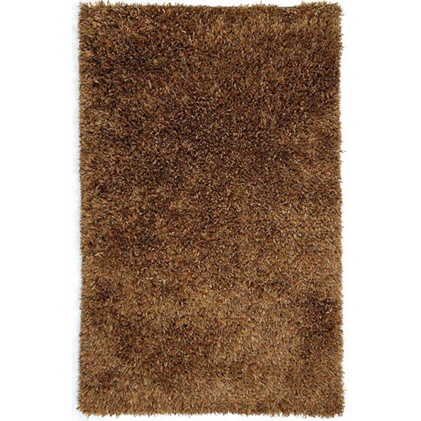 Hand-woven Brown Area Rug (5' x 7' 6)