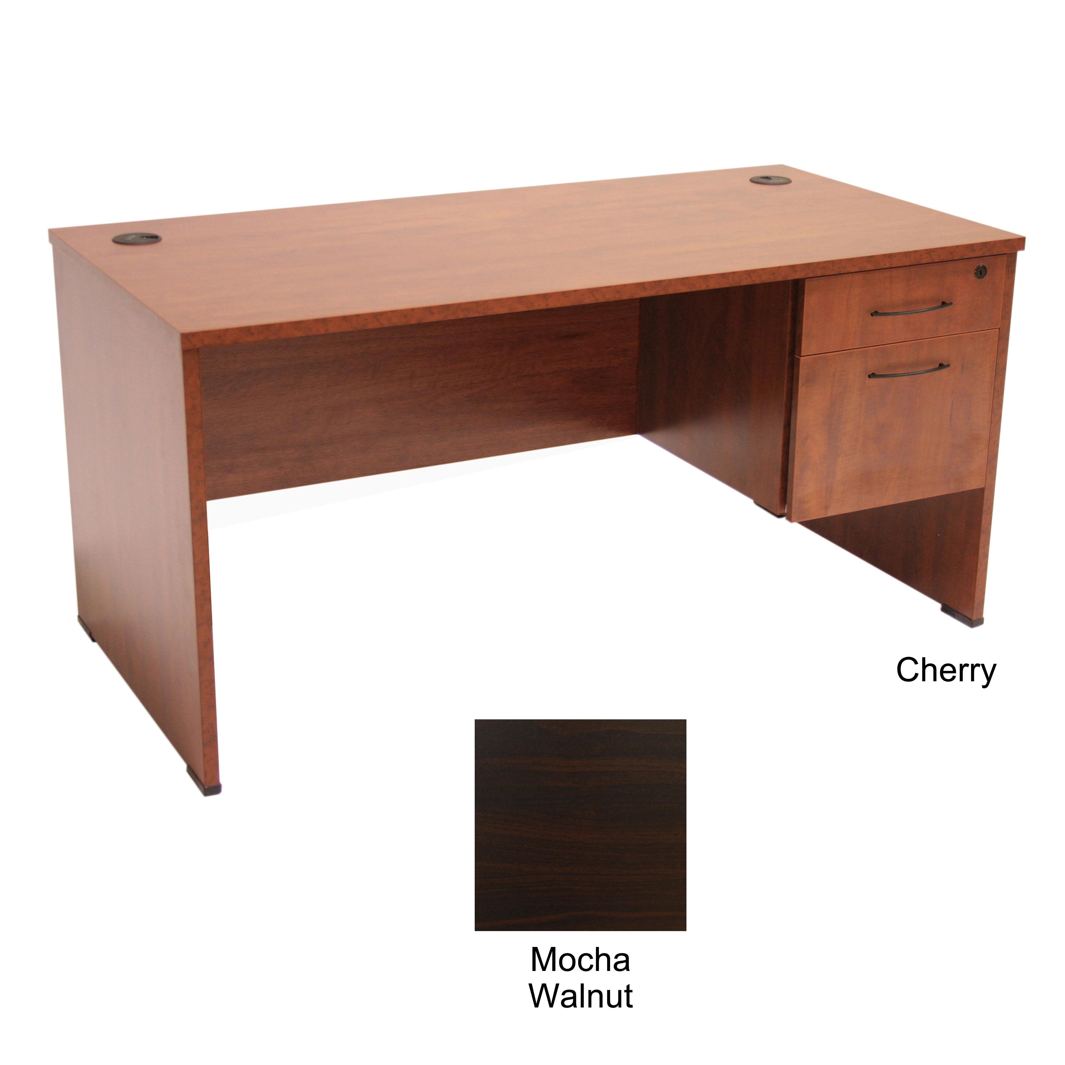 Regency Seating 60 inch Desk with Box File Pedestal