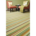 B. Smith Hand Woven Manila Wool Rug (5' x 8')