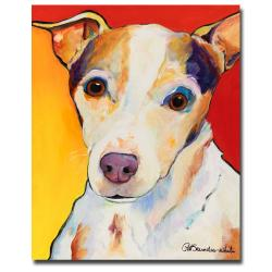 Pat Saunders-White 'Polly' Medium Contemporary Canvas Art