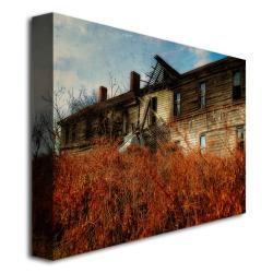 Lois Bryan 'Forgotten Hotel' Canvas Art