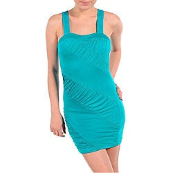 Stanzino Women's X-back Sexy Jade Dress