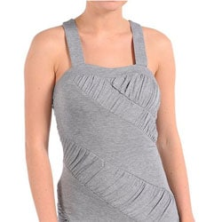 Stanzino Women's X-back Sexy Light Grey Dress