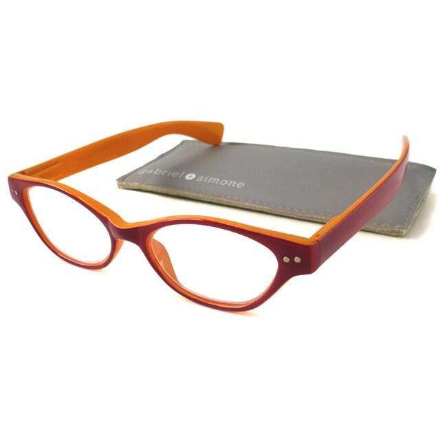 Authentic Gabriel+Simone Women's 'Le Maire' Cat-Eye Reading Glasses