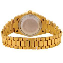 Akribos XXIV Women's Gold Diamond Quartz Bracelet Watch