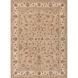 Hand Tufted Sand Wool Area Rug (9'6 x 13'6)