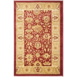 Oushak Red/ Gold Rug (2'6 x 4')