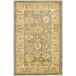 Safavieh Oushak Grey/ Gold Rug (2'6 x 4')