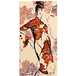 Fabrice de Villeneuve 'Geisha Series 1' Canvas Art