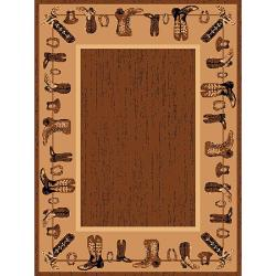 Lodge Design Area Rug (5'x7')