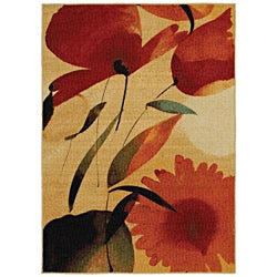 Mohawk Home Fiesta Primaveral Multi-color Rug  (5' x 7')