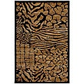 Mohawk Home Hallowed Ground Brown/ Black Rug (8' x 11')