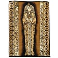 African Adventure Brown Pharaoh Area Rug