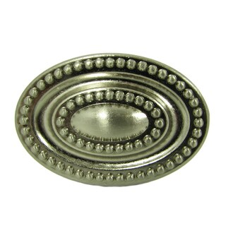 Stone Mill Hardware 'Ashton' Satin Nickel Cabinet Knobs (Pack of 5)