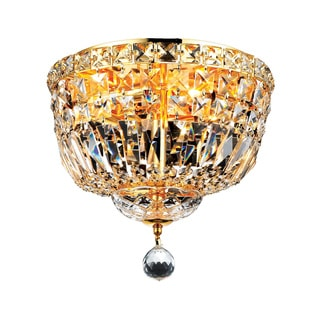 Christopher Knight Home Gold Four-light Flush Mount Fixture