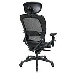 Breathable Mesh Manager's Chair with Adjustable Headrest